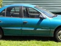 1996 Pontiac Sunfire 6 cyl. Automatic. This automobile