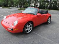 1996 Porsche 911 (993) Cabriolet Convertible 6-Speed