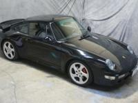 Stunning, black/black 1996 993 Twin Turbo, with only