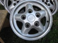 THESE WHEELS CAME OFF MY 1996 RANGE ROVER SE. THESE