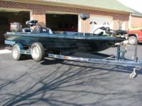 This 1996 Ranger Comanche Bass Boat is totally loaded
