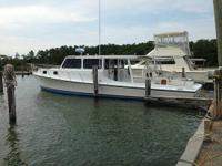 1996 Robbins Deadrise Boat is located in