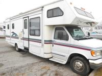 This motorhome runs and drives great! It has a Ford 7.5