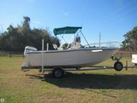 - Stock #71192 - 1996 Sea Pro 210 CC- Well loved boat.