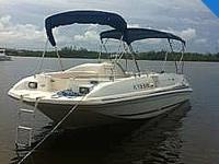 1996 Sea Ray 240 Sundeck best for lazy days out on the