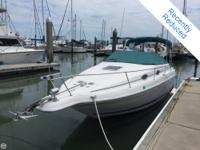 - Stock #079914 - This 1996 Sea Ray 250 Sundancer is an
