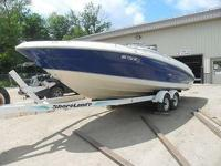Up for auction is a 1996 Sea Ray 260 Sundance Bow Biker