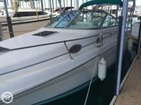 This 1996 Sea Ray 270 shows effectively for her age.