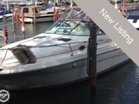 The 290 Sundancer is a perfect family cruiser. One of