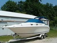Here is a gorgeous One Owner 1996 Sea Ray Sundancer 270