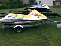 I am selling my 1996 Seadoo GTI with the trailer.  I
