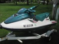 This jetski is in great running condition. No