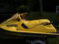 1996 seadoo Xp needs minor work and runs great and