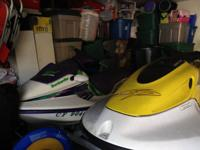 1996 Seadoo is a 2 seater. 1997 Waverunner is a 3