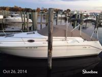 1996 searay sundancer with integrity trailer low hours