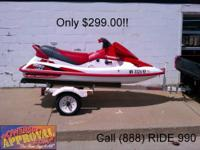 1996 Shoreland'r 2-Place Aluminum watercraft trailer.