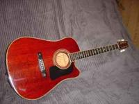 made in the usa songwriter series. single cutaway ,
