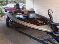 1996 Skeeter SS90 dual console 90hp 16 ft bass boat. 2
