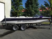 For the ski purest. This 1996 Ski Nautique closed bow