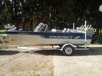 1996 Starcraft 191Super fishermen. 19ft inboard 3.0 lt