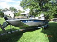 1996 Starcraft Semi V Bass Boat Please call owner James