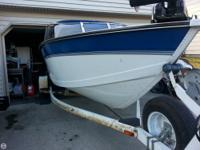 The StarCraft 19 is a great family fishing boat. The
