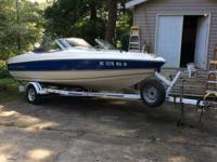 1996 Stingray with trailer, Evinrude 88 horsepower out
