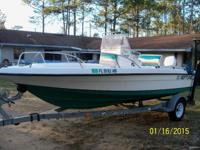 Up for sale is a 1996, 18 foot, center console Sunbird