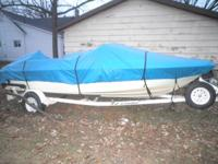 17 FOOT FIBERGLASS 1996 SUNBIRD SPIRIT WITH 90 HP