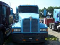 This truck is a 1996 T600 Kenworth with 1,452,144 miles