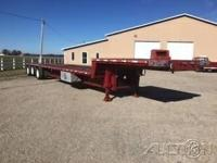 1996 Taibert Tri Axle Drop Deck Trailer For Sale In