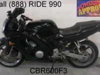 1996 Used Honda CBR600F3 Crotch Rocket For Sale-U1929