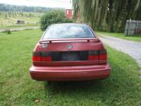 1996 Volkswagen Jetta hardly any rust. As the vehicle