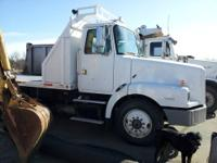 1996 Volvo/White Flatbed Truck. 3306 Caterpillar
