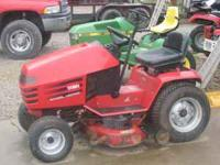 THIS IS A 14 HP, AUTO, REAL GOOD MOWER ! CALL FOR MORE