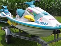 1996 Yamaha Wave Raider 760 with Quick Trim & 1994