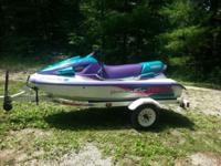 1996 Yamaha Venture 3 Seater wave runner. Bike is in