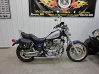 ONLY 24,250 Miles XV750 V-Twin 5 Speed Light 500