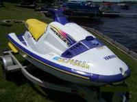 1996 Yamaha WaveRaider Jet Ski for Sale -- Low Hours