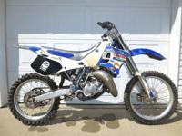 - UP FOR SALE I HAVE A YZ125 YAMAHA 2 MOVEMENT
