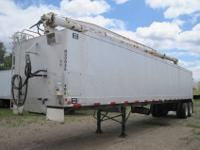 1996 CEI Pacer Feed 42' Trailer, Air Ride Suspension,
