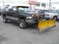 Options Included: 1996 DODGE RAM 2500 4X4 Plow