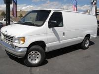 Options Included: N/AThis Ford Cargo Van has the VERY