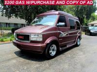 Options Included: Power Windows, Conversion Package,