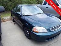 1996 Honda Civic EX ** 4-Door Sedan ** Power Moon Roof