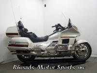1996 Honda GL1500 SE with 13,147 Far. This is one of