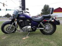 1996 HONDA SHADOW AMERICAN CLASSIC EDITION MOTORCYCLE