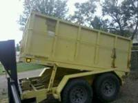 1996, gooseneck hydaulic dump trailer. Good Condition.