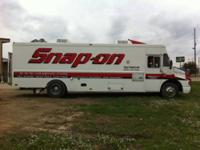 1996 SNAP-ON TOOL TRUCK, 444E TURBO ENGINE,