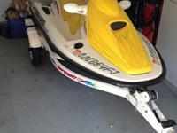 1996 SEA DOO BOMBARDIER GTI FOR SALE - END OF YEAR